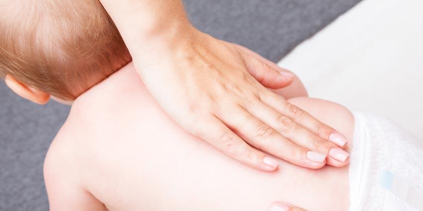 Chiropractor and newborn